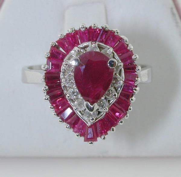 2009: 2.5 CT DIAMOND AND RUBY 14K 5 GR