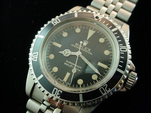 3439: 1980 ROLEX Submariner 5513 Watch