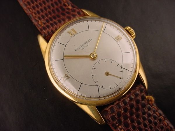 1298: Patek Philippe 1517 Vintage Yellow Gold 1944 Watc