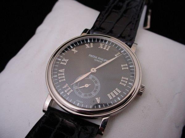 1356: 18k White Gold Patek Philippe Ref 5022 Watch New