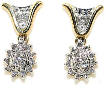 5015: 0.50 CT DIAMOND EARRINGS