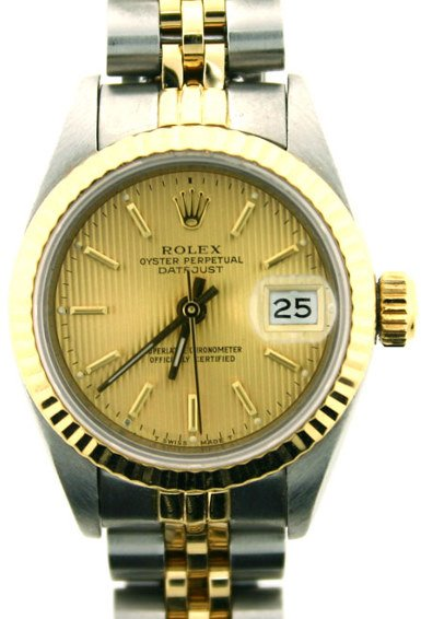 1087: LADIES ROLEX OYSTER PERPETUAL DATEJUST