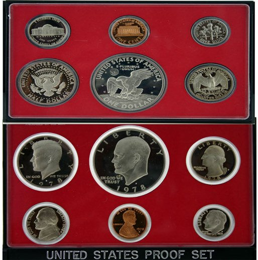 2000: 1978 U.S. MINT PROOF SET