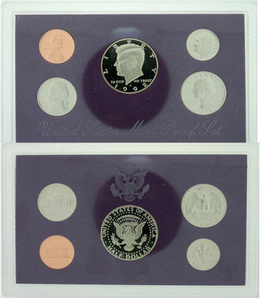 2010: 1992 U.S. MINT PROOF SET