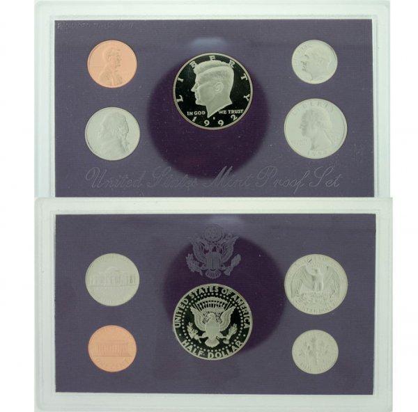 1019: 1992 U.S. Mint Proof Set
