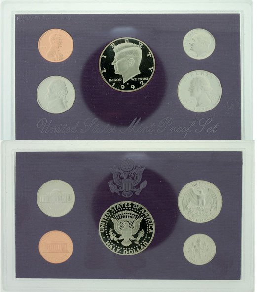 3019: 1992 U.S. Mint Proof Set