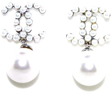 5003: LAB PEARL SILVER EARRINGS