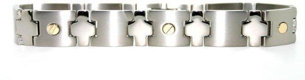 3006: Mens titanium bracelet
