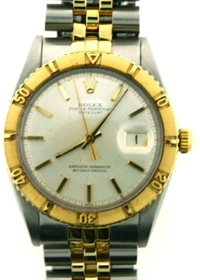 3228: MENS ROLEX OYSTER PERPETUAL DATE JUST