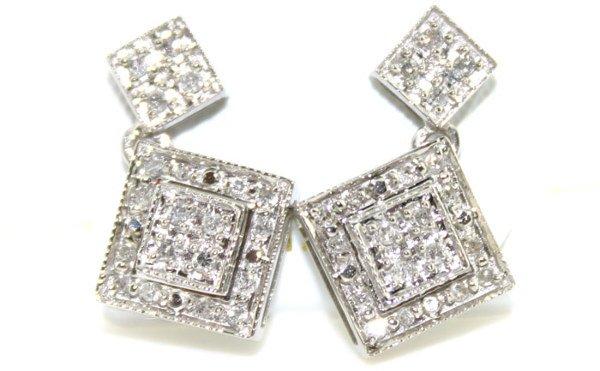 4009: 14K 0.50 cts Natural Diamond Earrings