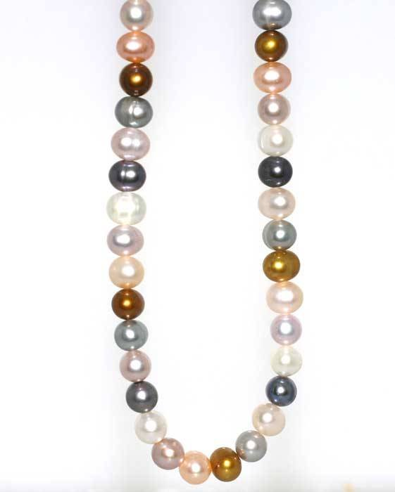 5004: GOLD ALL NATURAL COLOR FRESH WATER PEARL