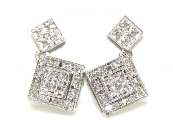 2009: 14K 0.50 cts Natural Diamond Earrings