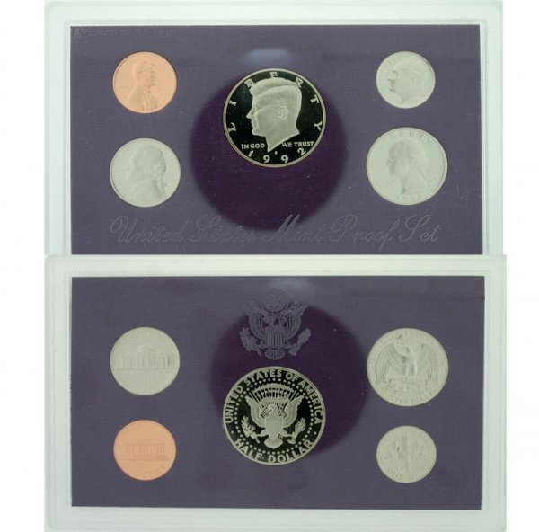 1019: 1992 U.S. Mint Proof Set