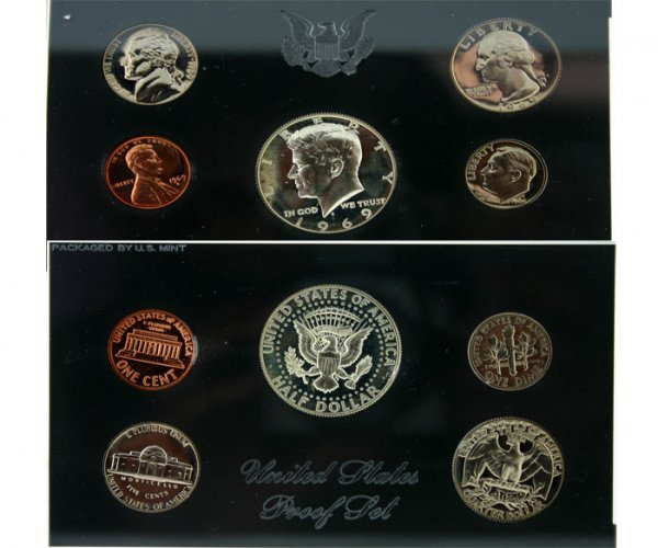 1016: 1969 U.S. MINT PROOF SET