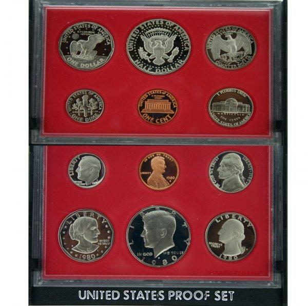 5017: 1980 U.S. MINT PROOF SET