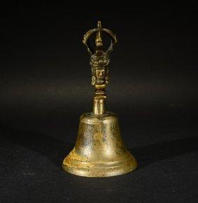 A Tibetan Bronze Bell