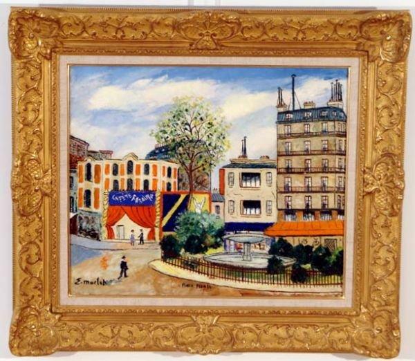 Elysee Maclet, French, vue of Paris