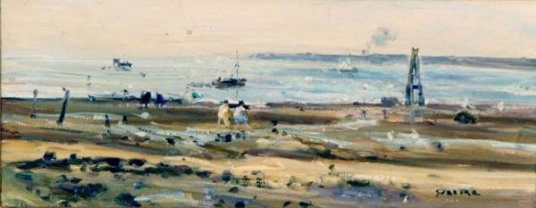 Gaston Sebire L'Estuaire en Normandie, France