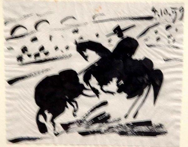 Pablo Picasso Chinese ink - Original