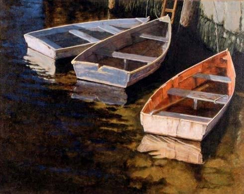 4007: Gilles Archambault, Canadian Painting,  Rockport,