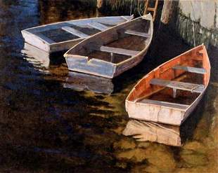 Gilles Archambault, Canadian Painting, Rockport,
