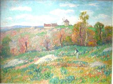 3450: Henry Moret Impressionist Paintings oil on canvas