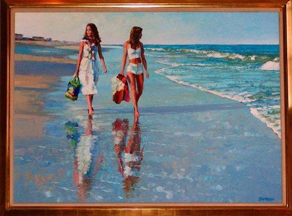 3541: Howard Behrens Original Oil on Canvas