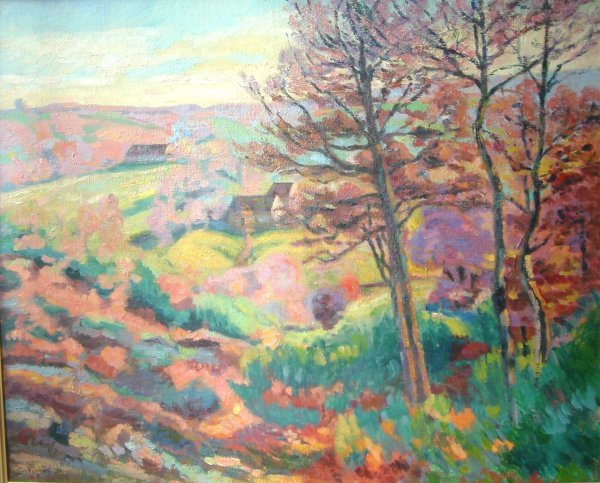 3553: Armand Guillaumin Oil on Canvas French Impression
