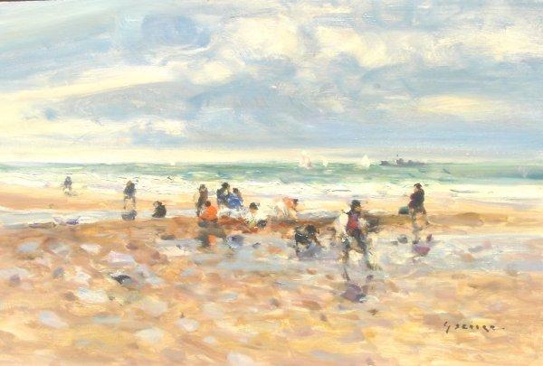 451: Gaston Sebire Original French Painting Normandy
