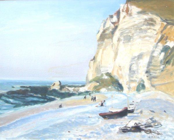 452: Gaston Sebire Original French Painting Normandy