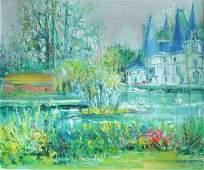 369: Yolande Ardissone French Post - Impressionist