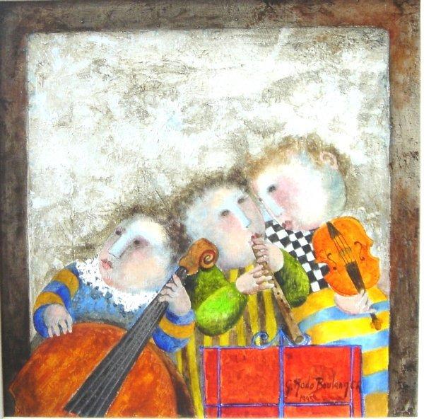 426: Graciela Rodo Boulanger Original Painting