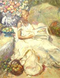 199: Royo Spanish Post-Impressionist