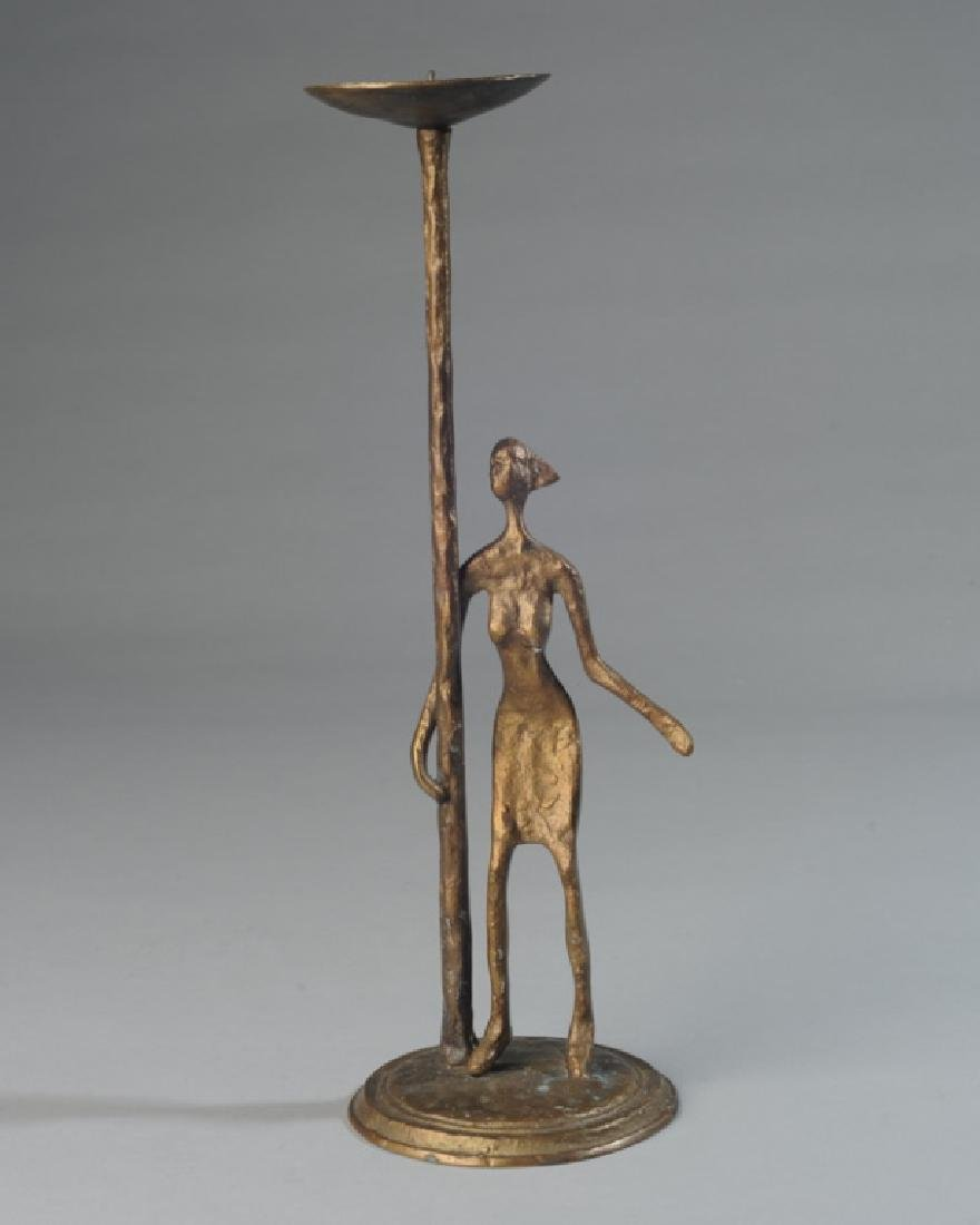 Contemporary Brass Pricket