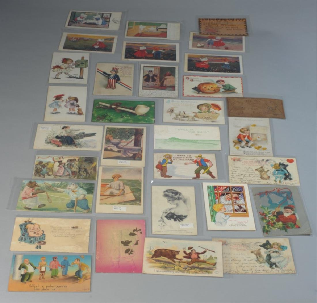 Lot of Postcards & Trade Cards