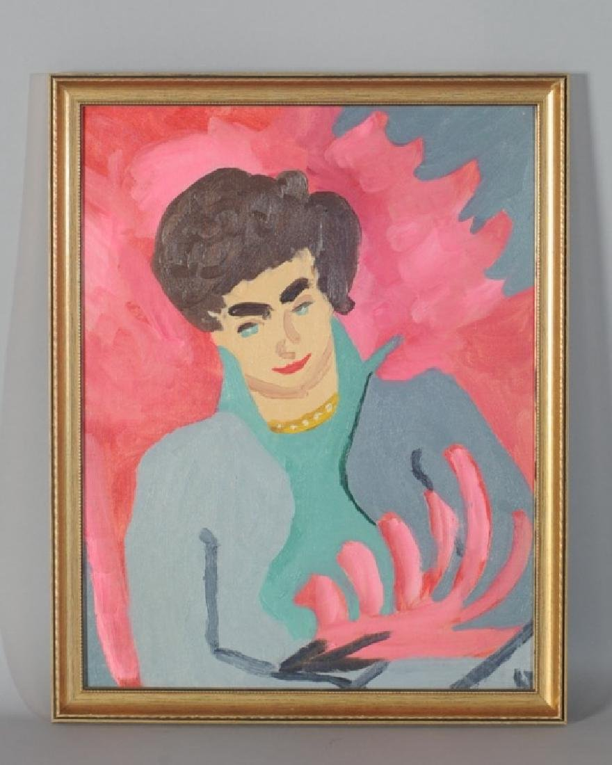 Jules Olitsky Student's Artwork