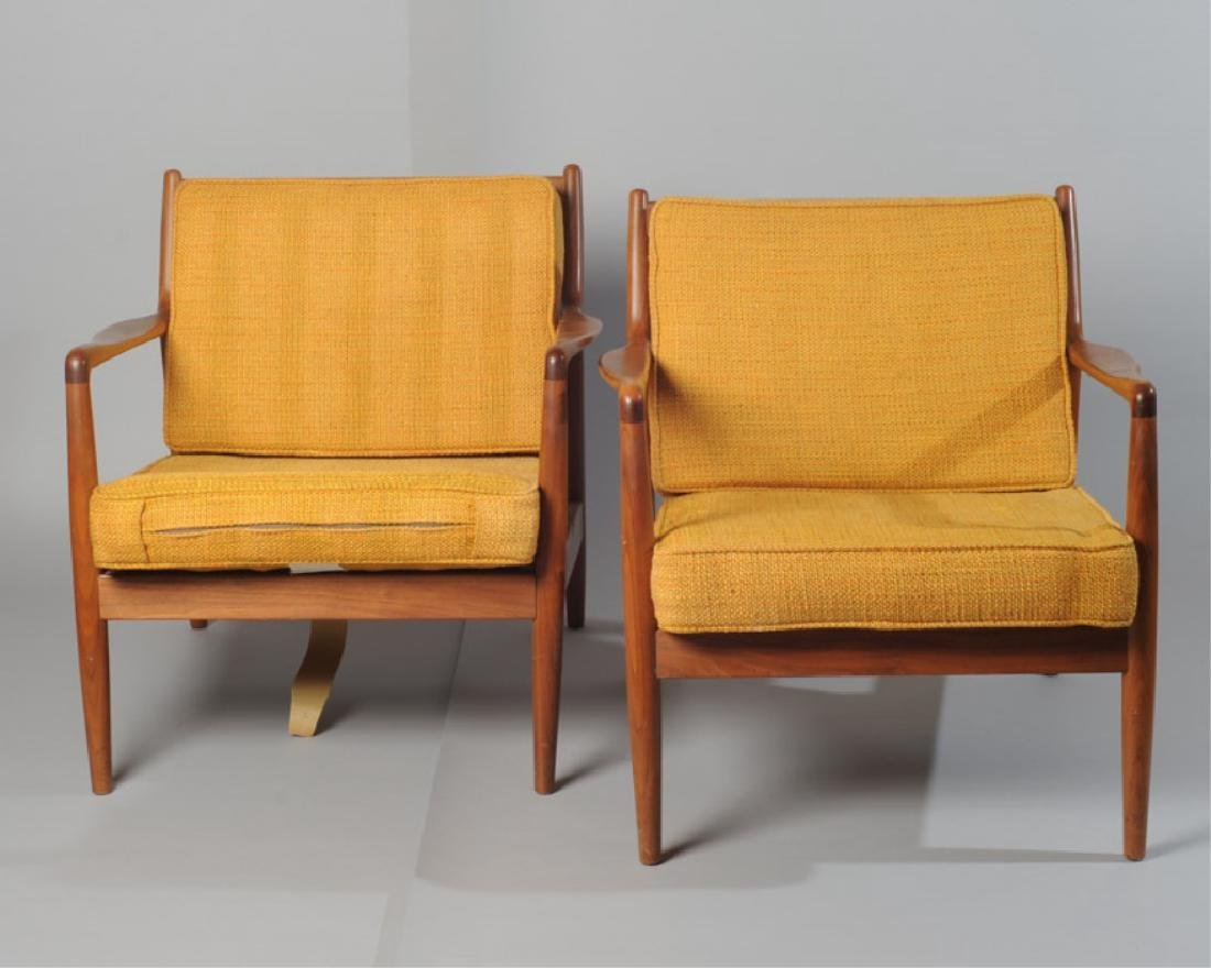 Pair of Folke Ohlsson Lounge Chairs