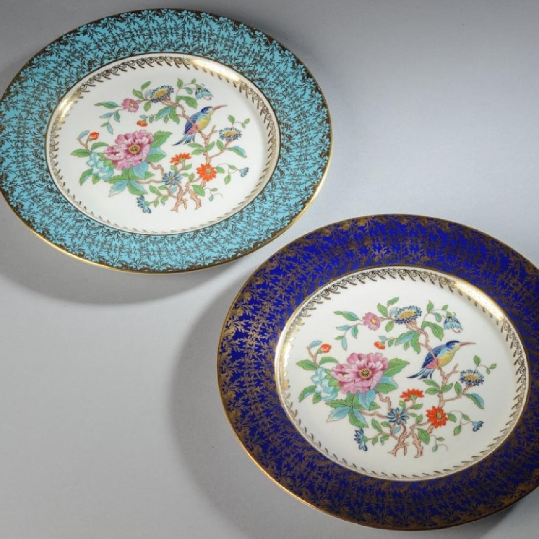 Two Aynsley Bone China Plates