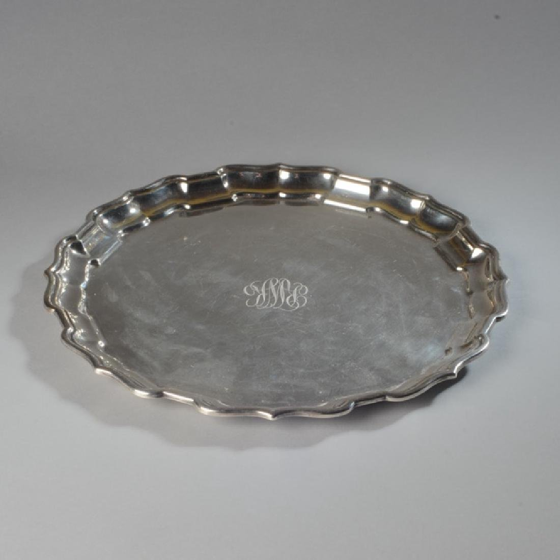 Heavy Sterling Silver Tray