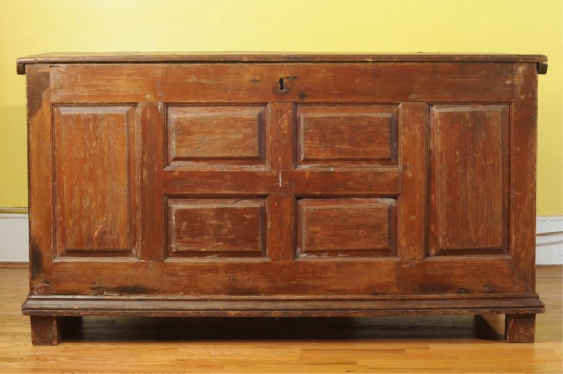 18th C. Coffer or Chest