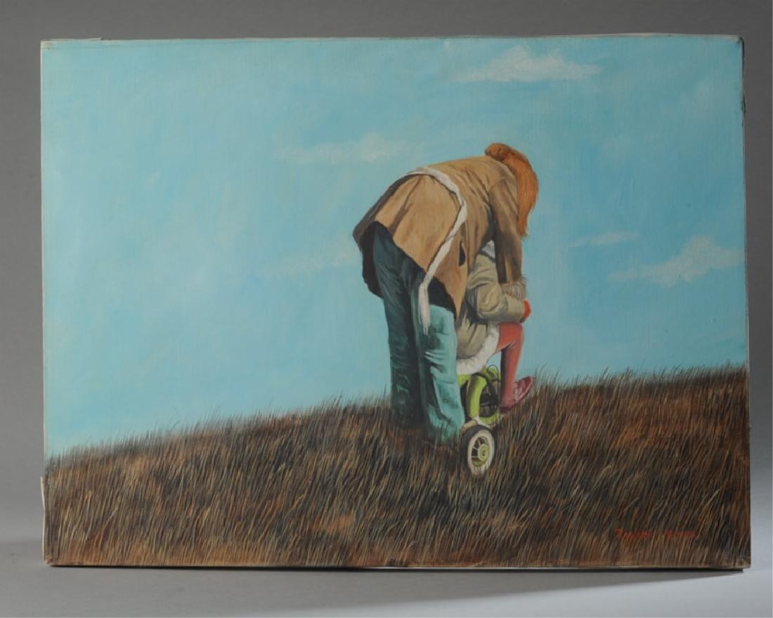 Richard Smith Oil on Canvas