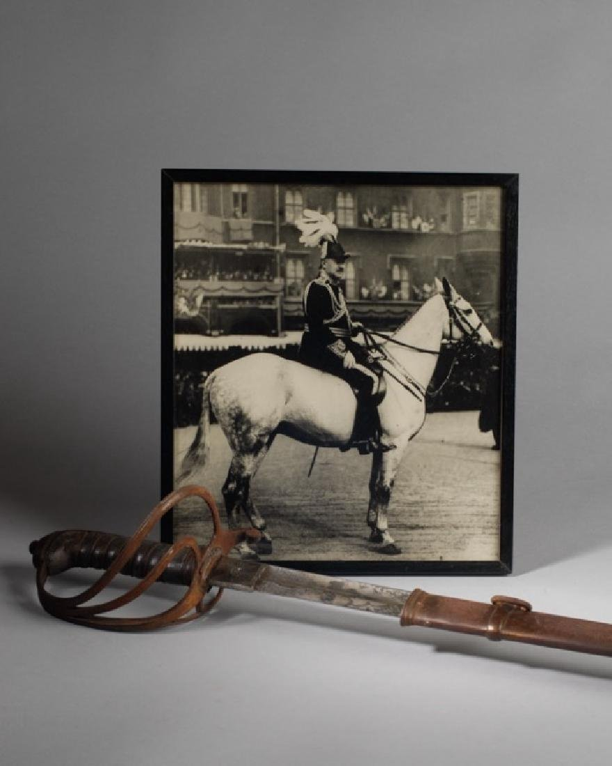 Gen. Sir William Horwood's 19th C. Sword in Sheath