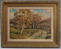 Minerva Teichert ? (1889-1976) Oil on Canvas
