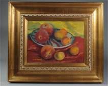Two Frank Gervasi (1895-1986) Still Life Oils