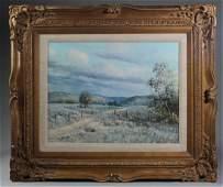 Jack Bryant, Sr. (1929-2012) Oil on Canvas