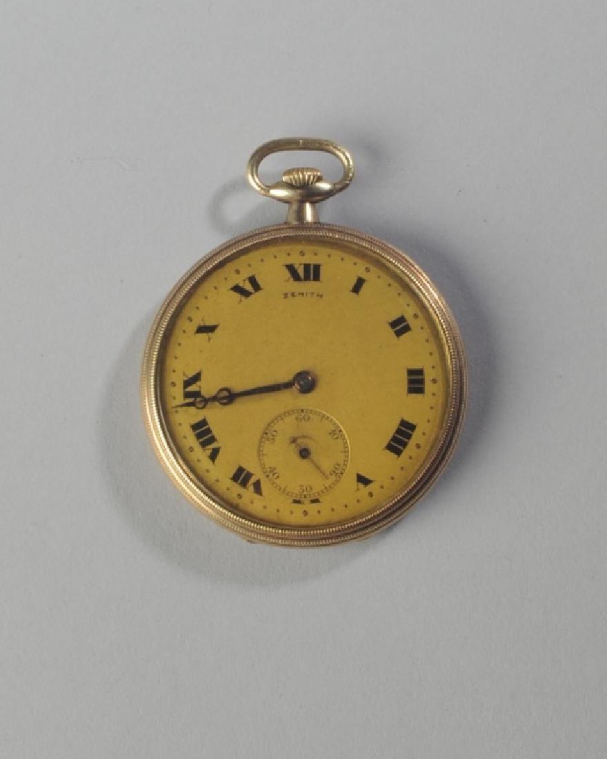Zenith 14k Gold Pocket Watch