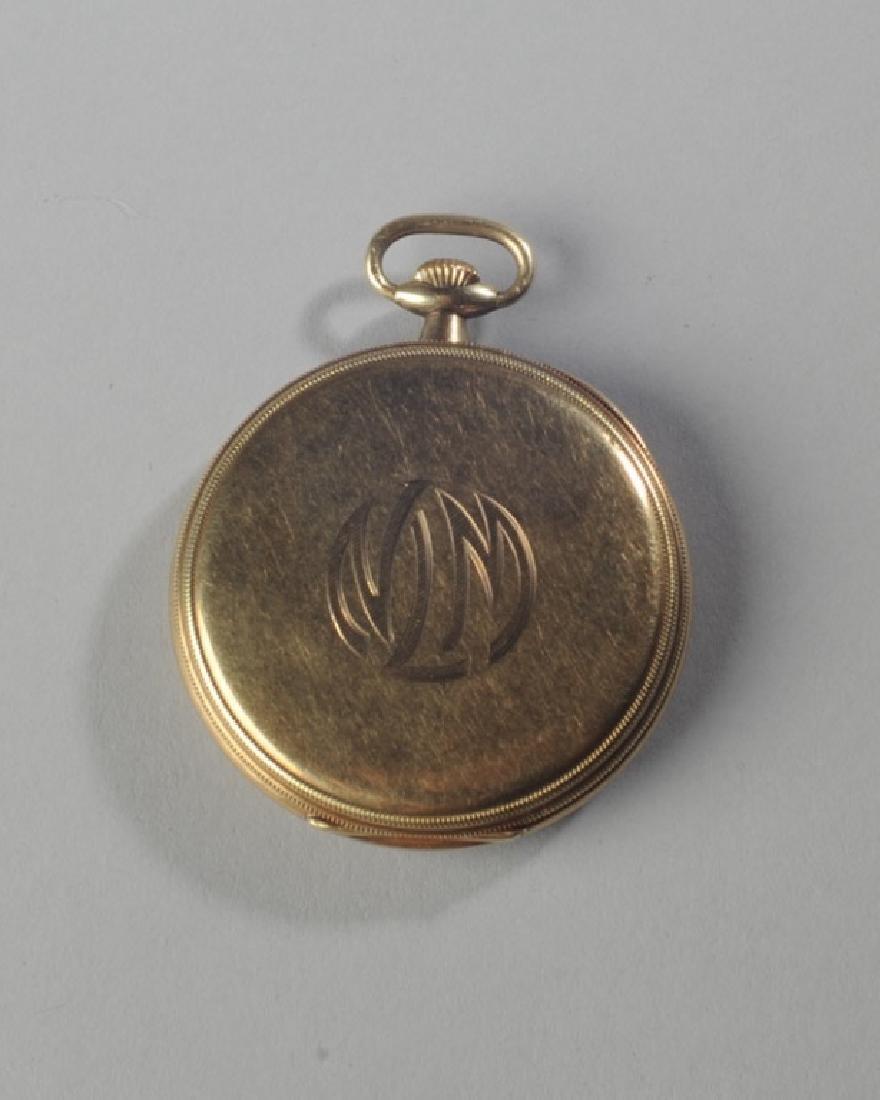 Zenith 14k Gold Pocket Watch - 2