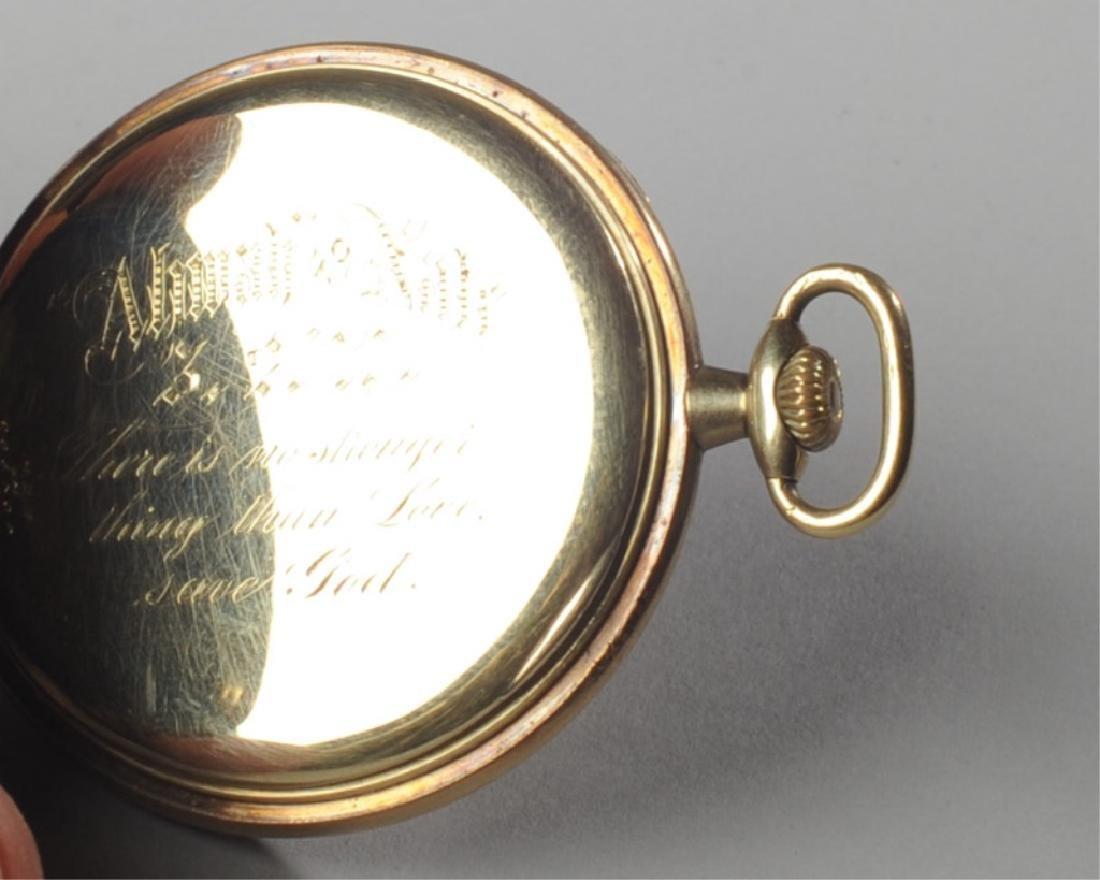 Zenith 14k Gold Pocket Watch - 3