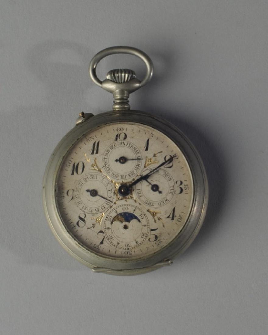 J.H. Hasler Swiss Pocket Watch