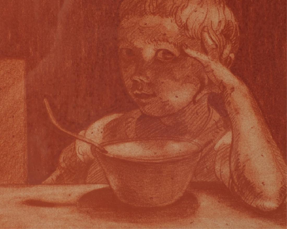 Joseph Capachietti 1963 Lithograph of Child - 2